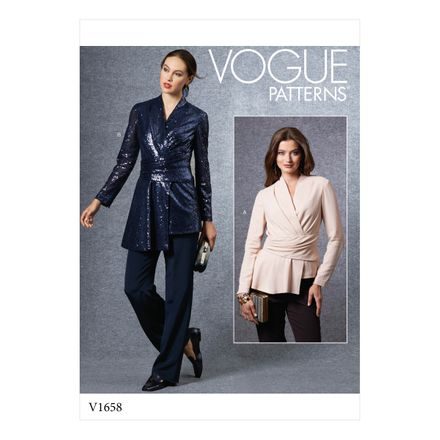 Vogue Schnittmuster V1658 - Damen Shirt