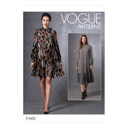 Vogue Schnittmuster V1652 - Damen Kleid