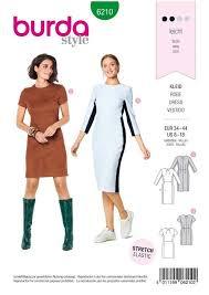 Burda Schnittmuster - 6210 - Damen Kleid