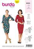 Burda Schnittmuster - 6223 - Damen Kleid 001