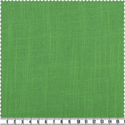 Cotton Slub - Musselin - emerald – Bild 1