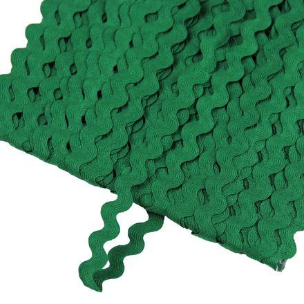 Zackenlitze - 5 mm - grün