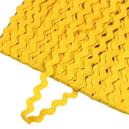 Zackenlitze - 5 mm - gelb