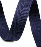 Baumwoll-Nahtband - 3cm - blau