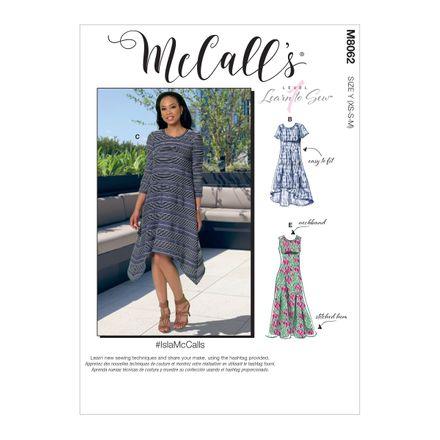 McCall´s Schnittmuster - 8062 - Damen - Kleid