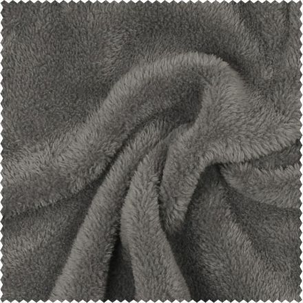Wellnessfleece - grau