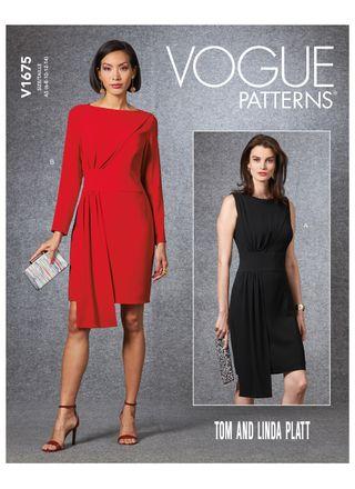 Vogue Schnittmuster V1675 - Damen Kleid