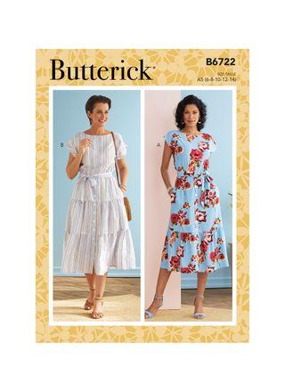 Butterick Schnittmuster - 6722 - Damen - Kleid