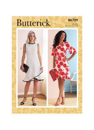 Butterick Schnittmuster - 6729 - Damen - Kleid