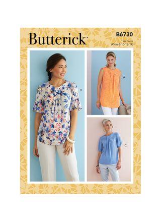 Butterick Schnittmuster - 6730 - Damen - Bluse