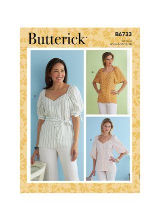 Butterick Schnittmuster - 6733 - Damen - Bluse