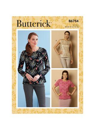 Butterick Schnittmuster - 6754 - Damen - Shirt