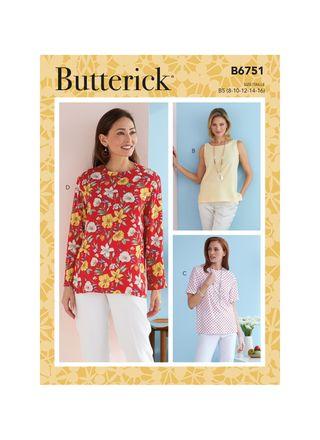 Butterick Schnittmuster - 6751 - Damen - Shirt
