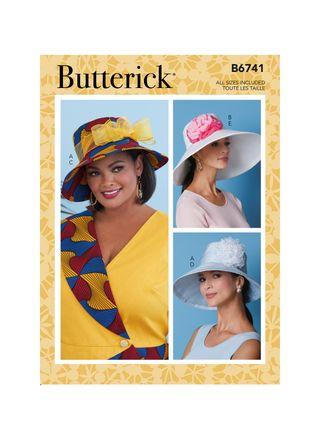 Butterick Schnittmuster - 6741- Damen - Hut