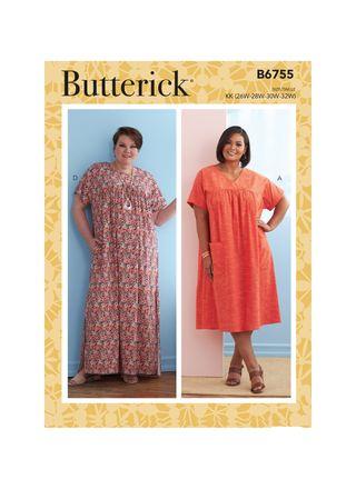 Butterick Schnittmuster - 6755 - Damen - Kleid