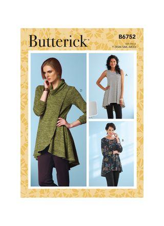 Butterick Schnittmuster - 6752 - Damen - Shirt