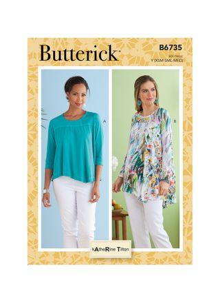 Butterick Schnittmuster - 6735 - Damen - Shirt