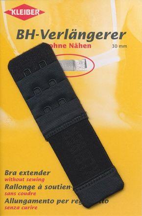 BH-Verlängerer - schwarz - 30mm