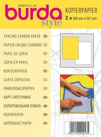 burda - Kopierpapier - weiß/gelb