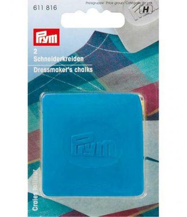 PRYM Schneiderkreide-Platten - blau/gelb