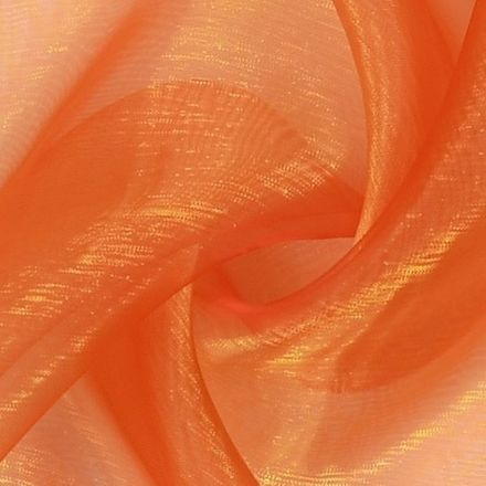 "Organza ""Two Tone"" - orange-rot"