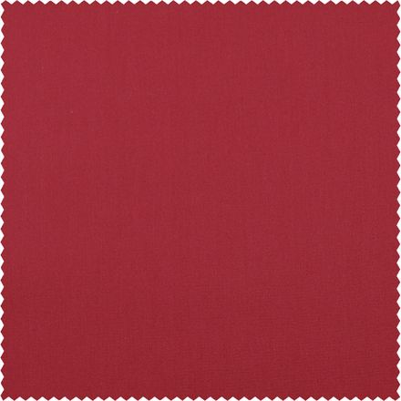 Baumwoll-Stretch-Satin - rot