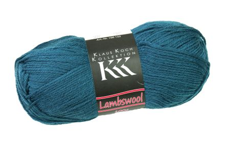 Wolle - Lambswool - jeansblau