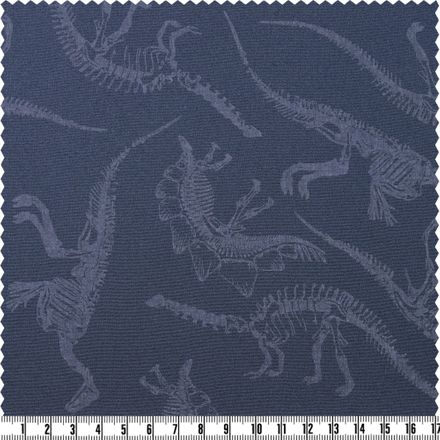 Softshell - Glow in the dark - Dinos - dunkelblau