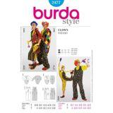 Burda Schnittmuster - 2477 - Unisex-Kostüm Clown 001