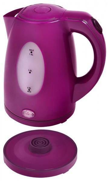 Wasserkocher SC WK 5010 purpur 1,5 Liter 2200 Watt NEU*13230 Bild 2