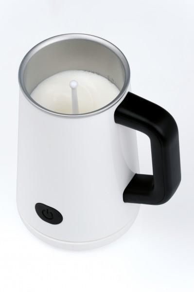Milchaufschäumer heißt/kalt Milchschäumer elektrisch für Cappuccino Aufwärmfunktion NEU*92440 002