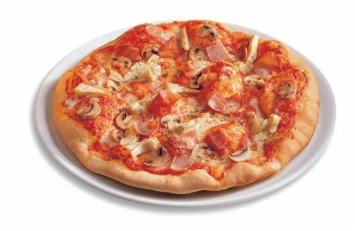 Pizzaofen Minibackofen inkl. Pizzastein rot *92297 Bild 3