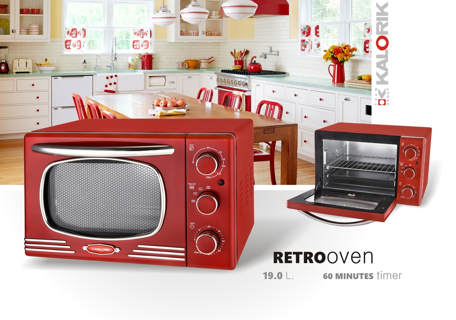 Multiofen im Retro-Design