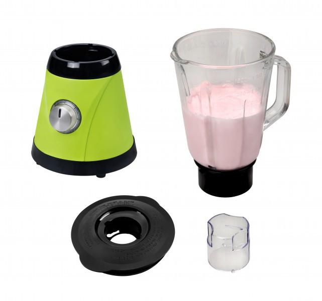 Edelstahl Standmixer Glaskrug 1,5 Liter 600 W apfelgrün NEU*27567