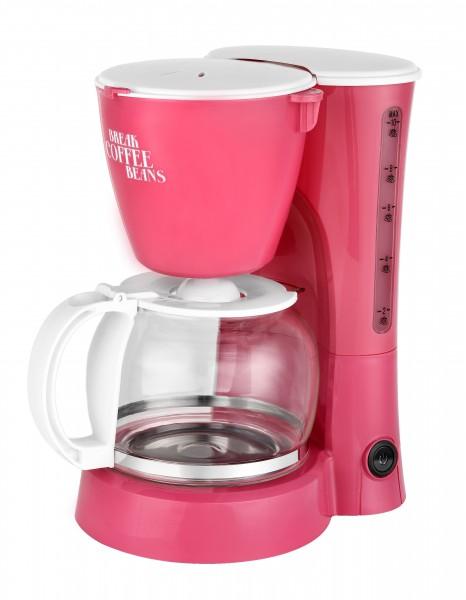 Design-Kaffeemaschine 1,25 Liter 10 Tassen Dauerfilter Trendfarben Aqua Coralle NEU! OVP! Bild 2