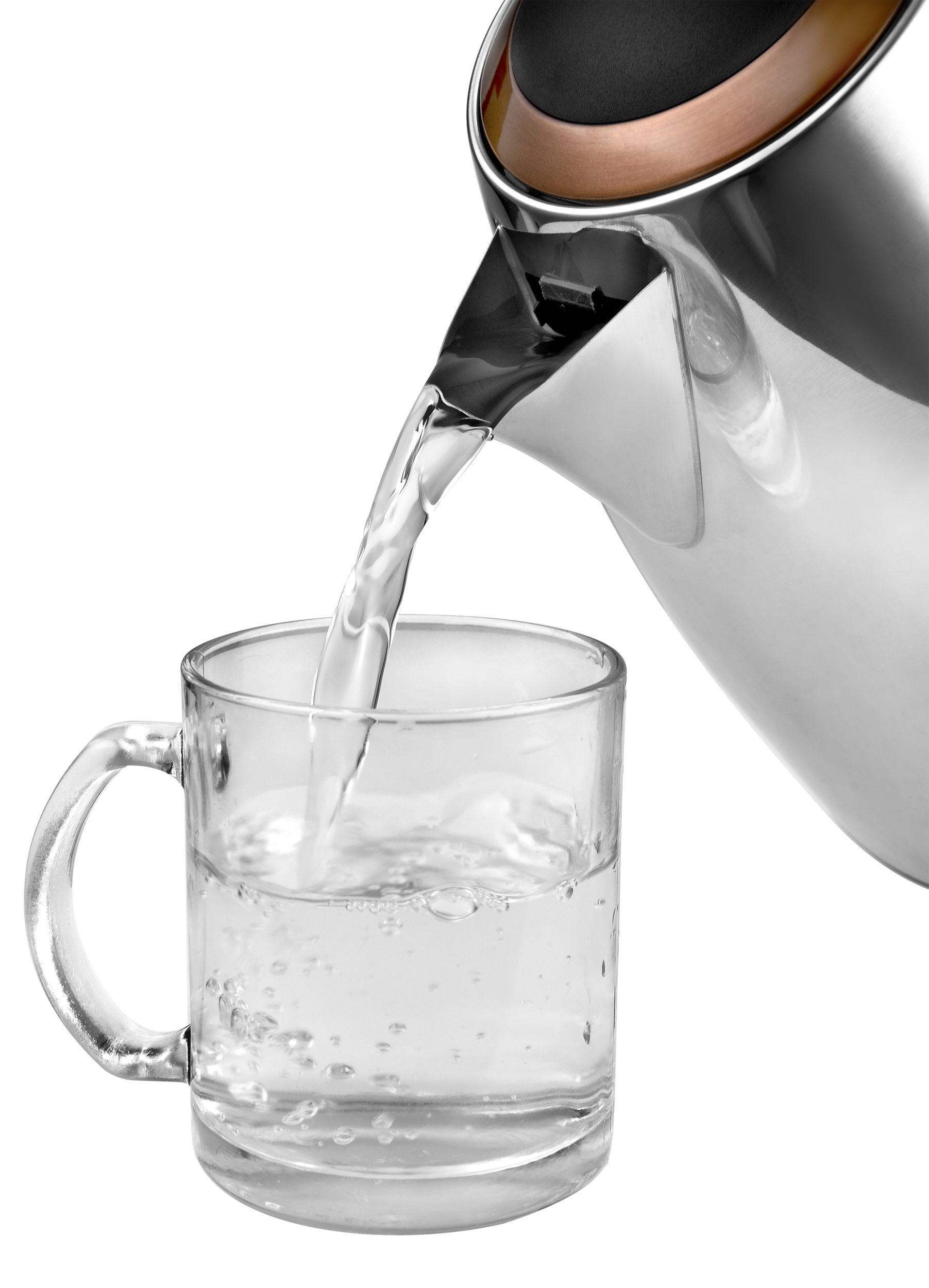 Edelstahl-Wasserkocher 1,7 Liter 3000W copper/kupfer/chrom schnurlos NEU*91981 Bild 6