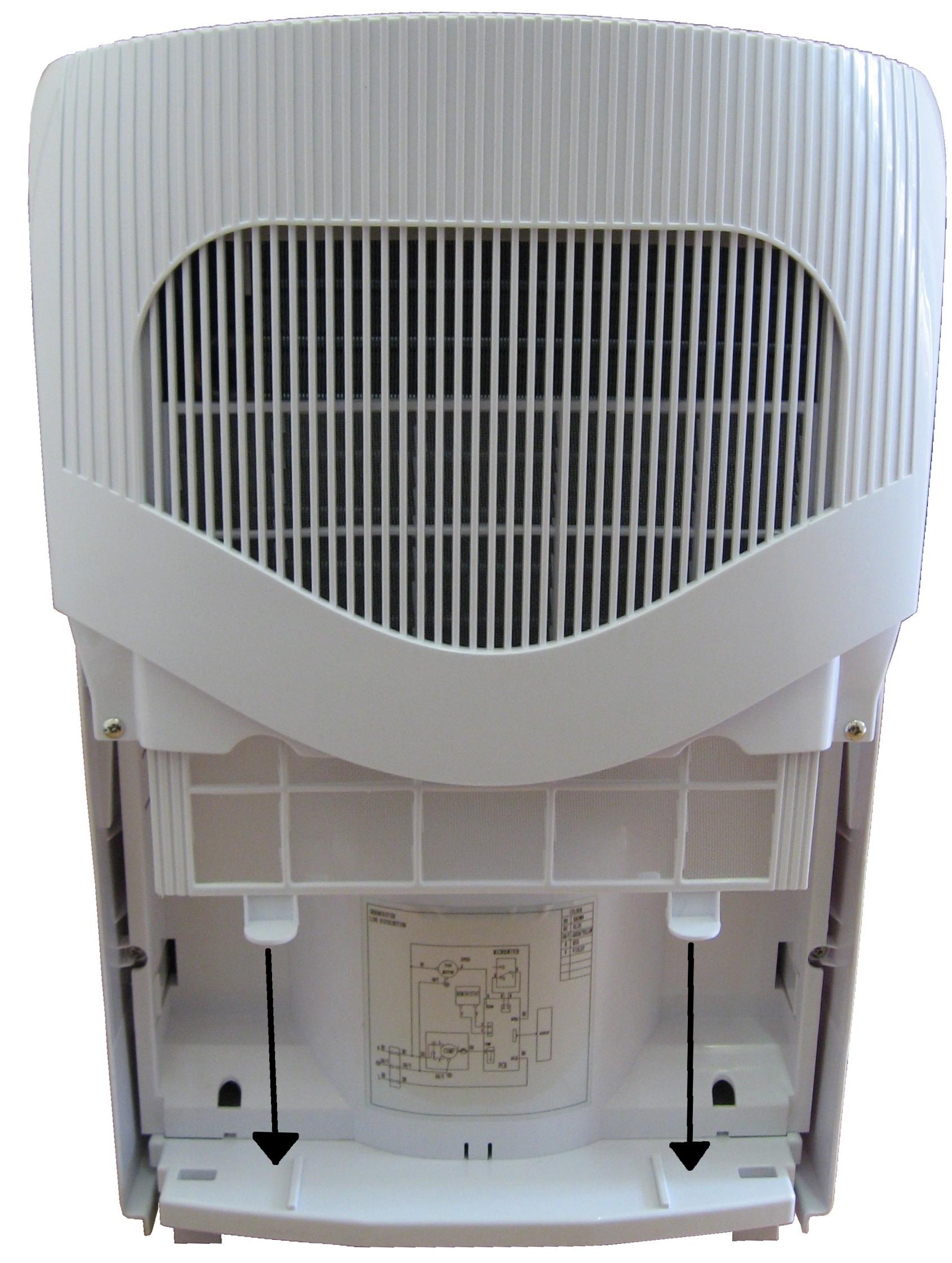 Luftentfeuchter Entfeuchter Bautrockner Raumentfeuchter Trockner 10l/Tag NEU OVP*90373 Bild 3