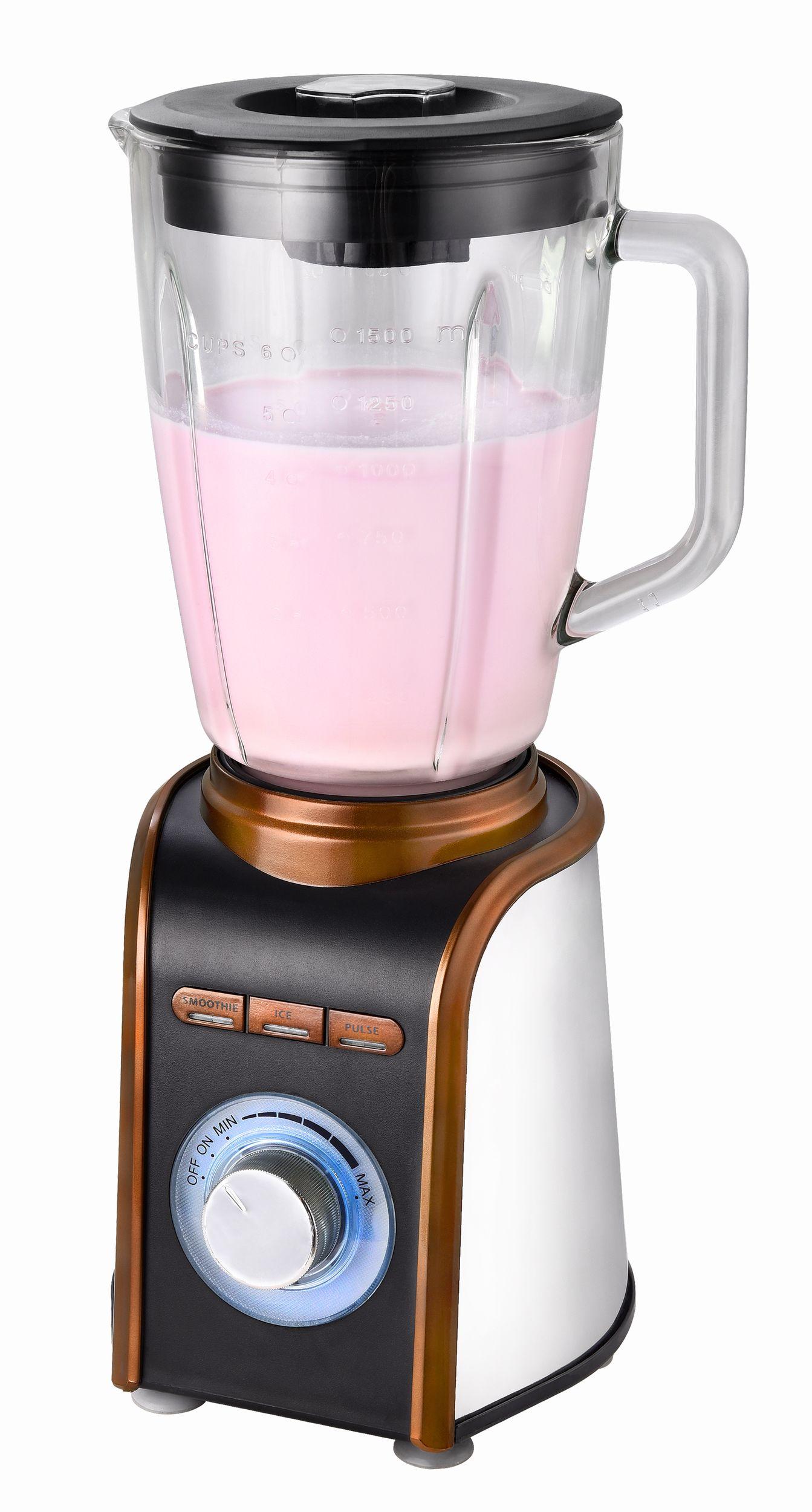 Standmixer Blender Smoothiemaker Cocktailmixer Glaskrug Eis Crusher 1,5 Liter 700 W NEU*94227 Bild 2