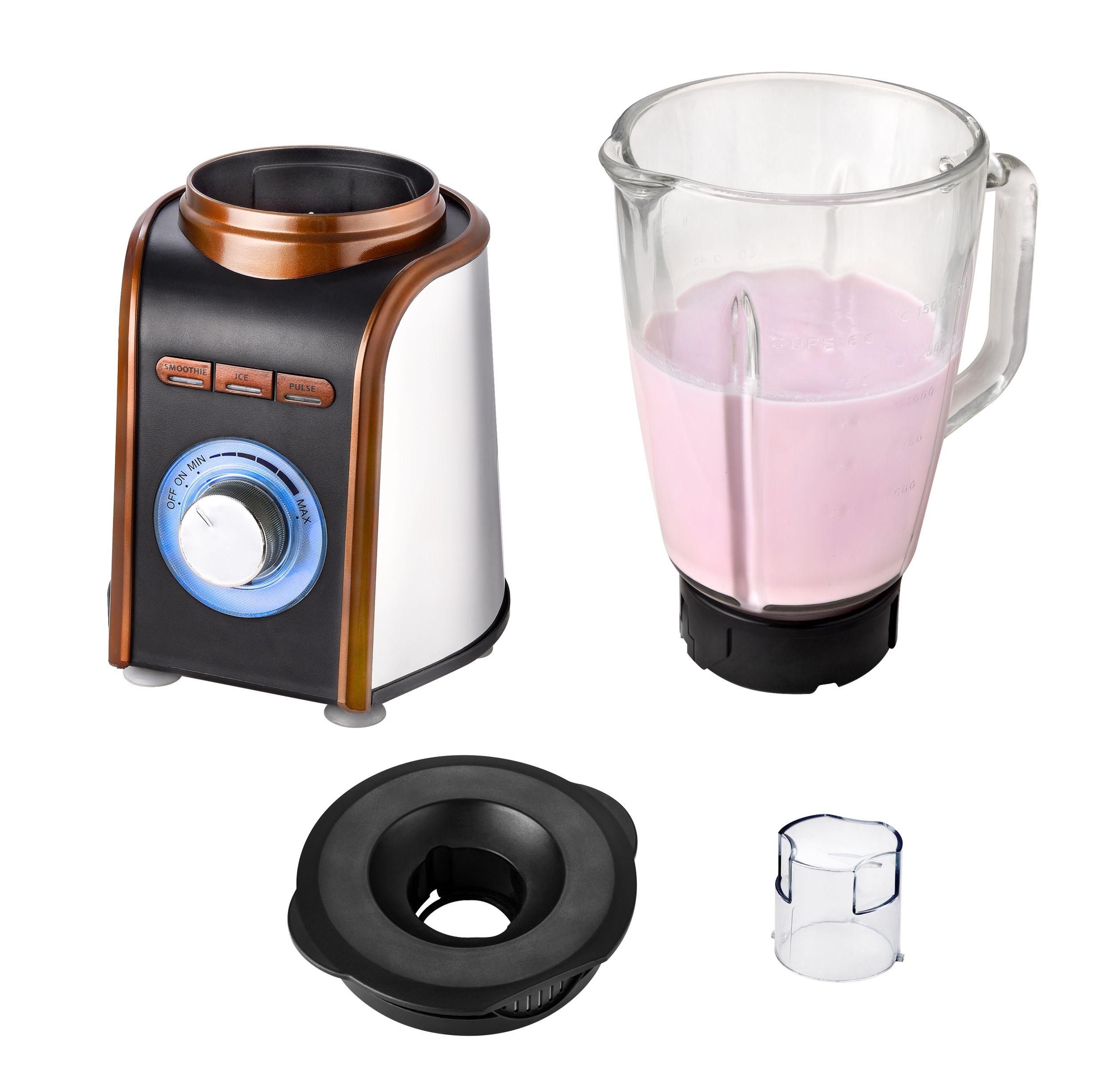 Standmixer Blender Smoothiemaker Cocktailmixer Glaskrug Eis Crusher 1,5 Liter 700 W NEU*94227 Bild 3