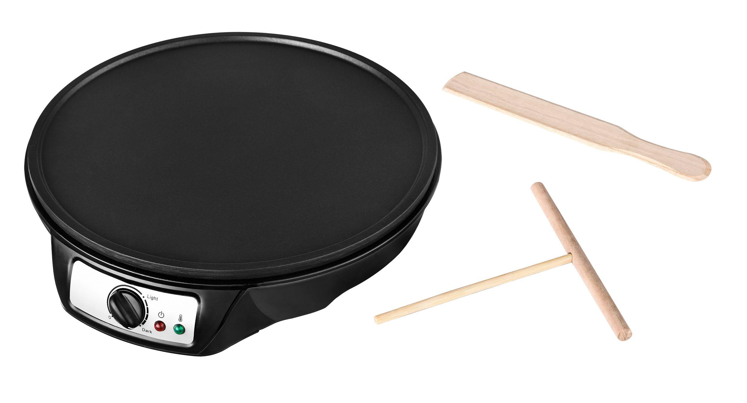 Crepes-Maker Crepeseisen Crepe Platte 30 cm Pfannkuchen Pfanne Wrap Omelette Waffeln*85102 Bild 2