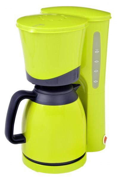 Frühstücksset 2-teilig Wasserkocher 1,5 Liter + Thermo-Kaffeeautomat 8 Tassen Lemone Grün Bild 4