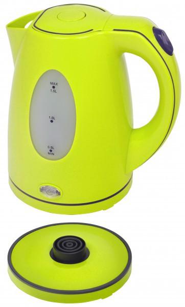 Frühstücksset 2-teilig Wasserkocher 1,5 Liter + Thermo-Kaffeeautomat 8 Tassen Lemone Grün Bild 2
