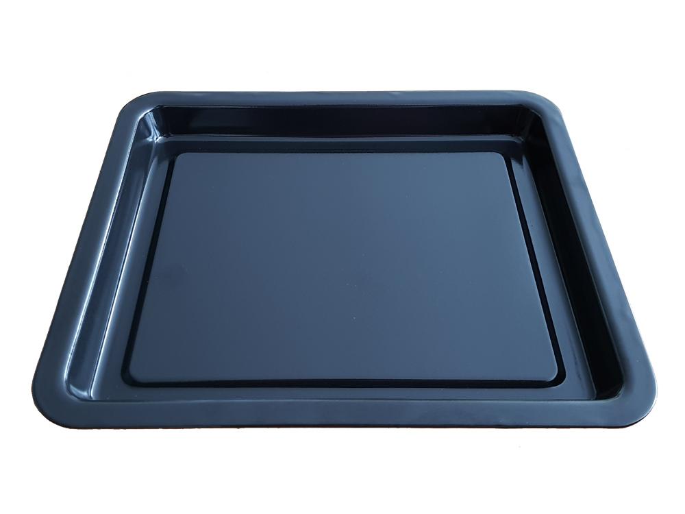 Ersatz Backblech emailliert für Miniküche Miniofen SC OT 900 & 900.1 / 23x28x2,5cm