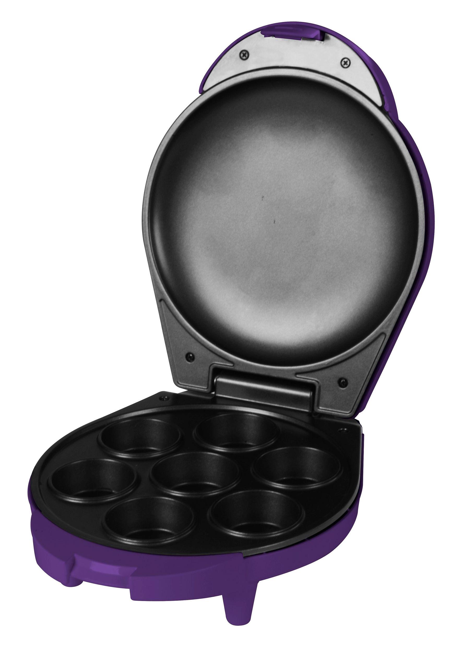 Muffinmaker Muffin Bäcker 7 Muffins Cupcakes lila 700W(Karton defekt)*12563 Bild 4