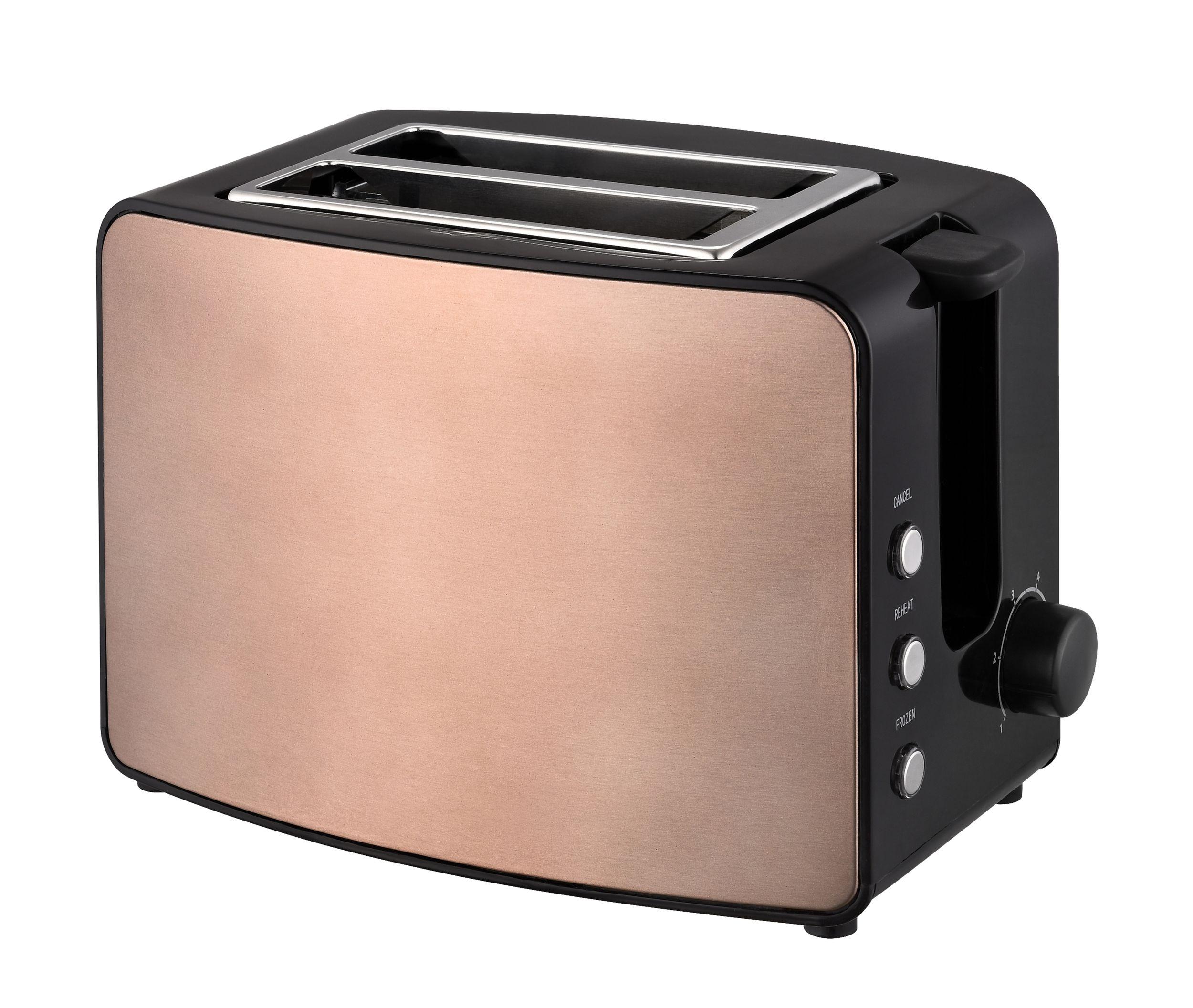 Frühstücksset 3-teilig Toaster 1,7L Wasserkocher Kaffeemaschine 1,9L Havanna Kupfer Braun Bild 8