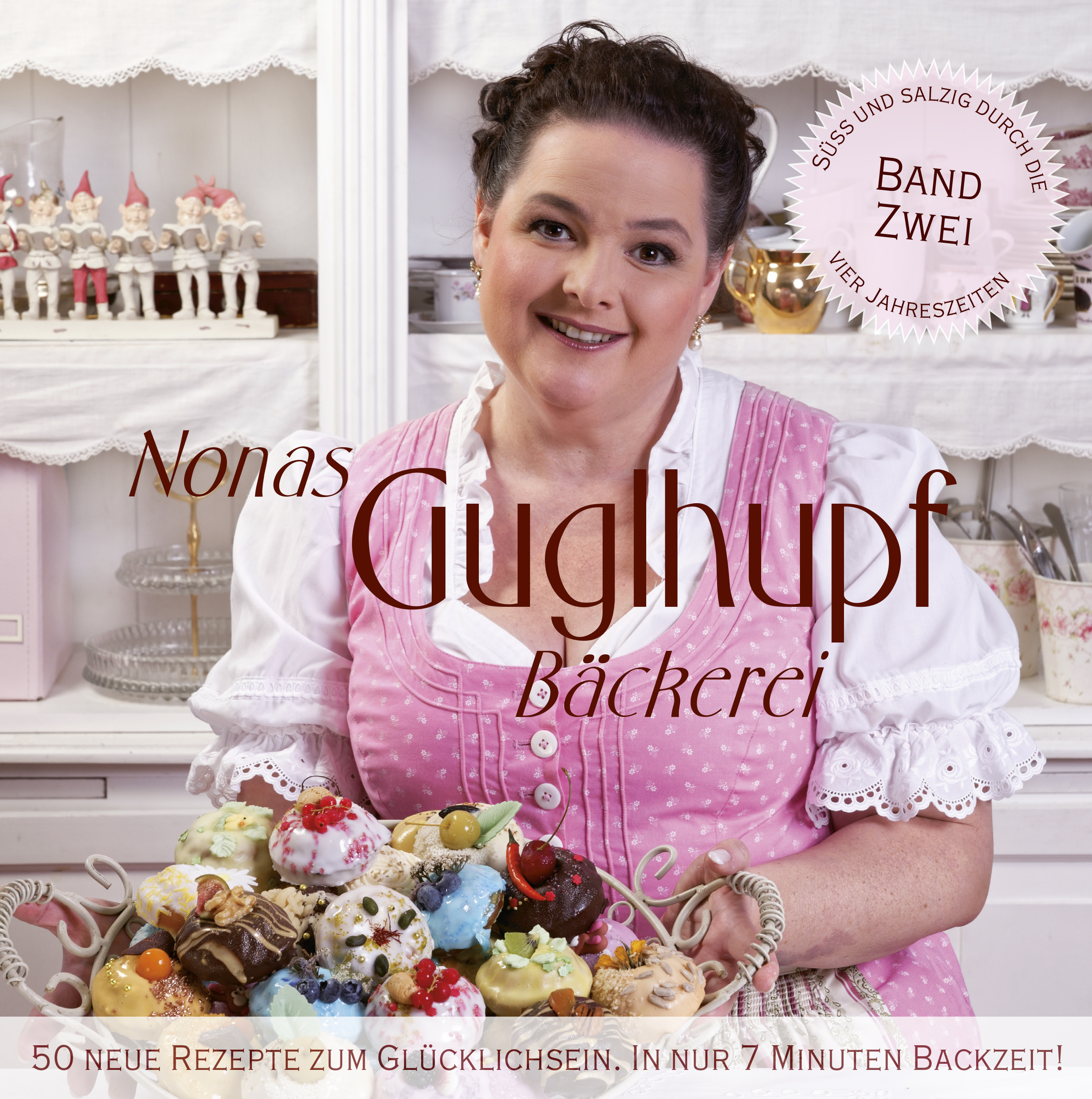 "Guglhupf Backbuch ""4 Jahreszeiten"" 50 neue Rezepte für den Original-Guglhupfbäcker Nona Nissl"