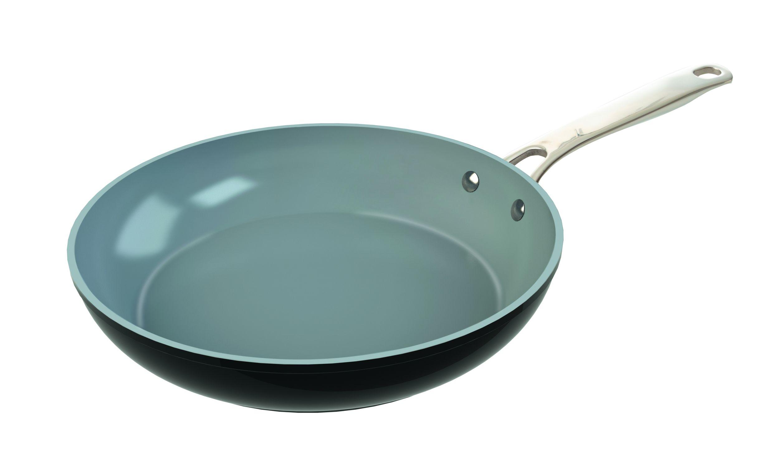 LAGUIOLE Bratpfanne Grillpfanne 28cm Stielpfanne Keramik nonstick Induktion inkl.Pfannenschutz*00870