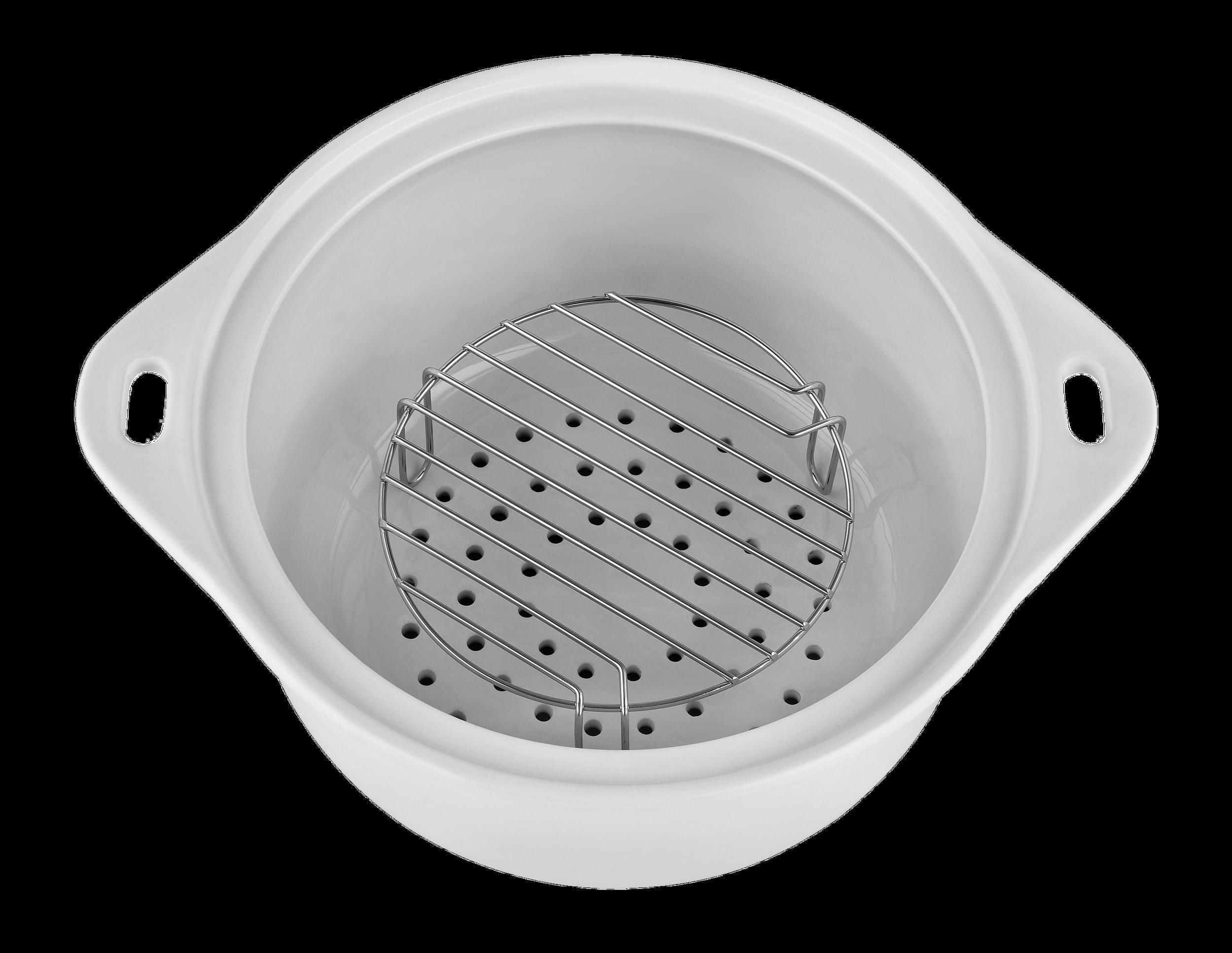 KERAMIK Dampfgarer BPA-frei Timer One-Touch-Bedienung 4,5 L Dünsten Kochen Garen Dämpfen*83900 Bild 8