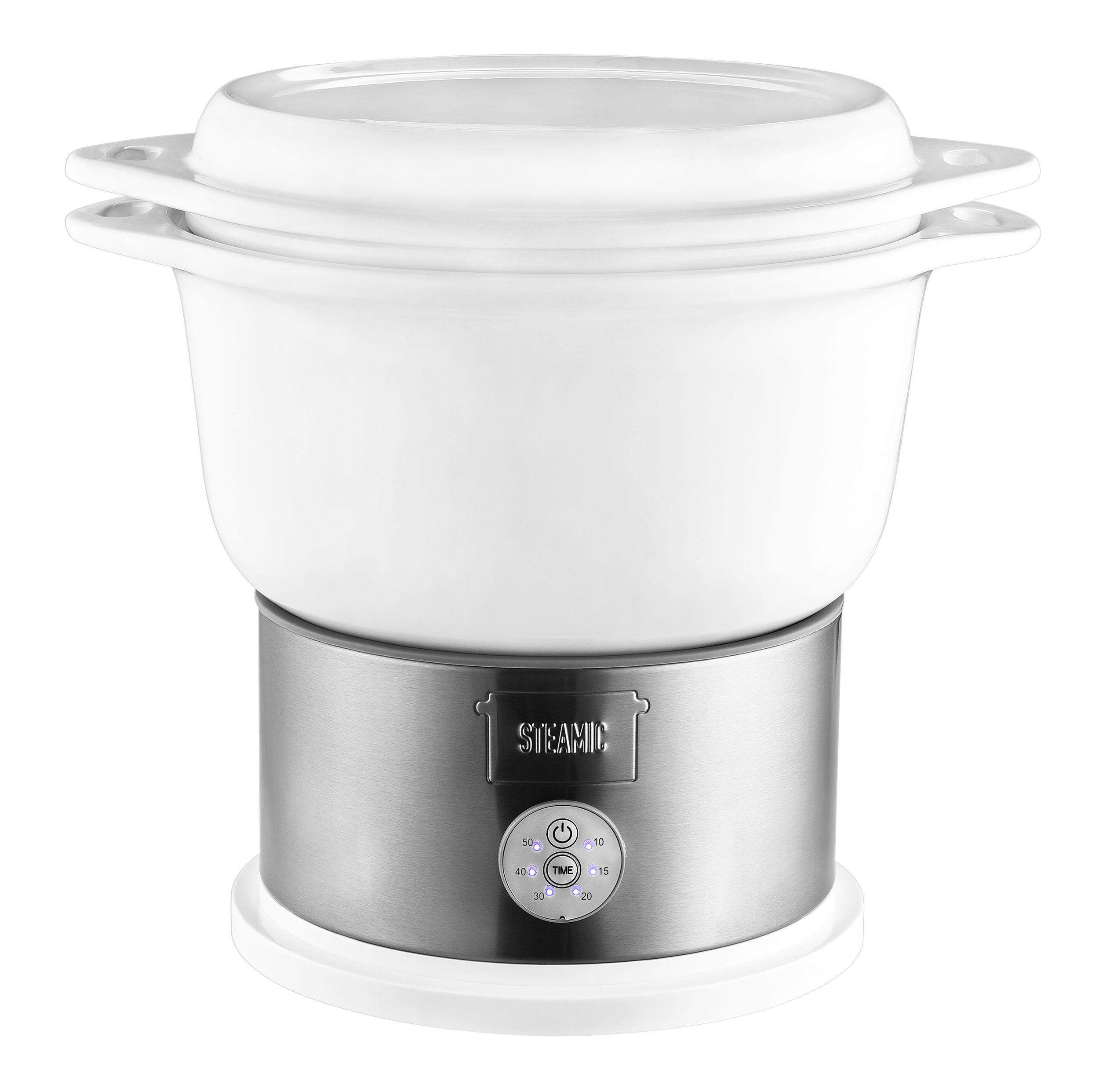 KERAMIK Dampfgarer BPA-frei Timer One-Touch-Bedienung 4,5 L (Karton beschädigt)*40382 Bild 4