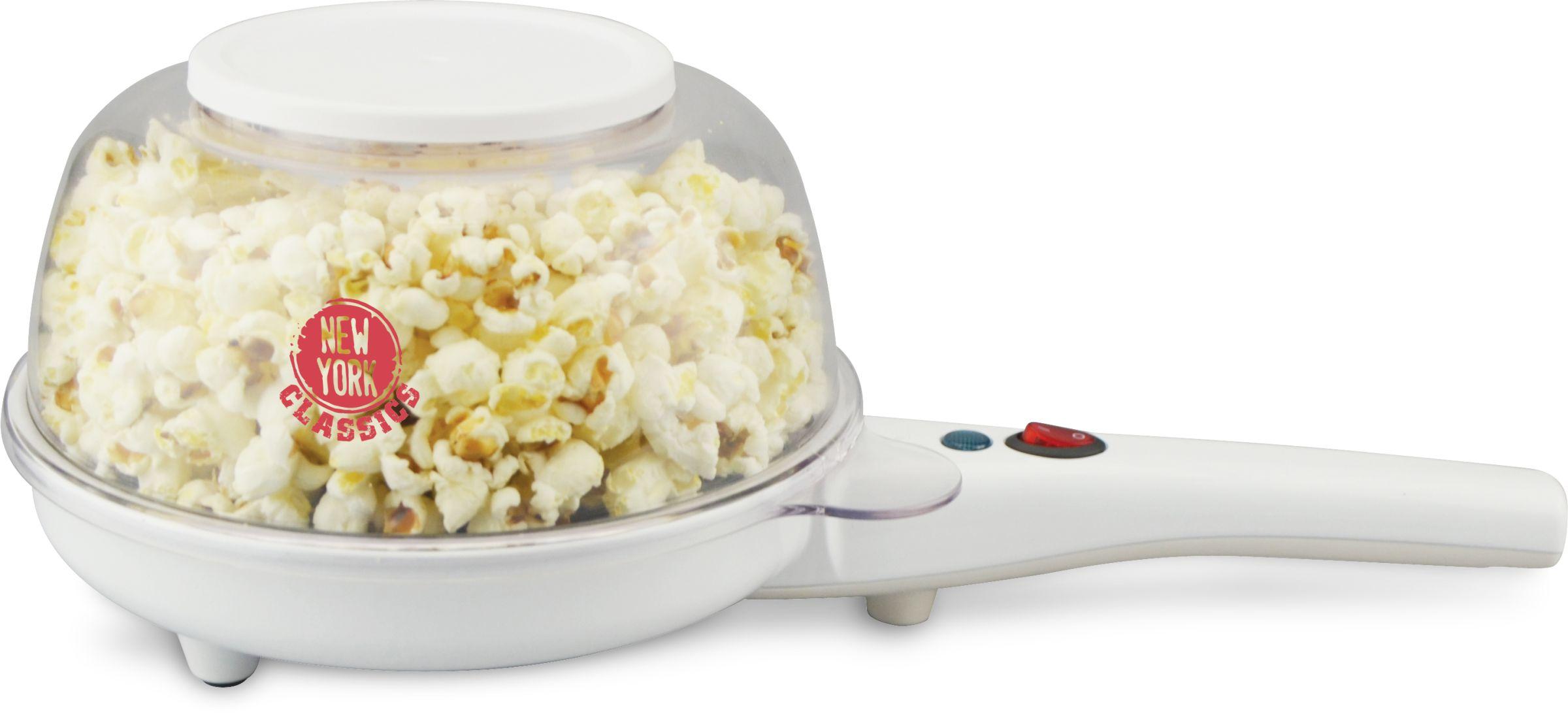 Popcornmaker Automat Popcornmaschine Pfanne elektrisch Mais 800W(Karton beschädigt)*36736
